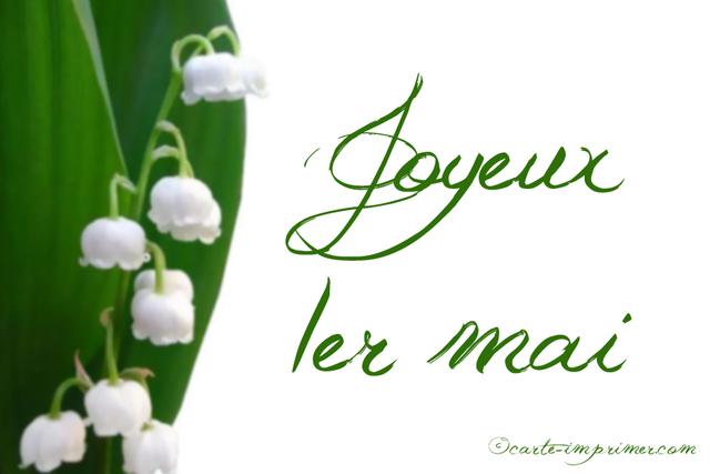 1er mai f ri - Image muguet 1er mai gratuit ...